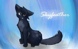 Skyfeather by leftysmudgez