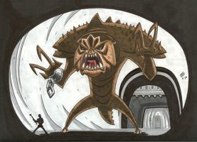 The Rancor by OtisFrampton
