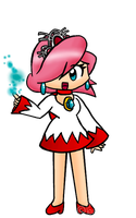 White Mage :D by Peach-X-Yoshi