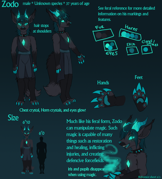 Zodo anthro reference. by icat