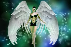 The Wings Lady Gaga by annemaria48