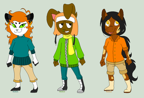 Anthro Pointables (CLOSED) by RaveMunch