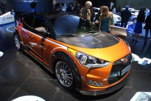 modified hyundai veloster by nuttbag93