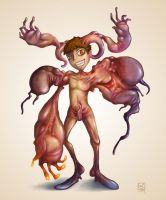Demon boy : Flesh Shifter by polawat