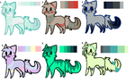Very CHEAP kitty adopts :) _2/6 left!_ by AngeloSnowpaw