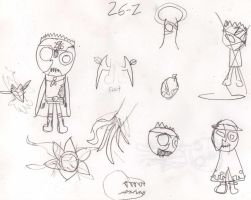 26Z Sketches by OceanPictures61