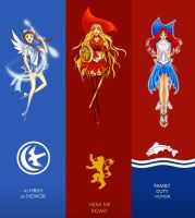 Sailor Scouts of Ice and Fire 2 by fate135