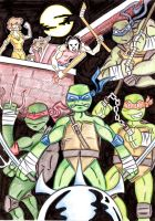 TMNT Color by MBrazee