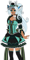 Zharina 2014 - Flat colors by Setsuna-Yena