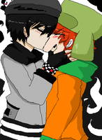 sxk - random kiss by Zelga