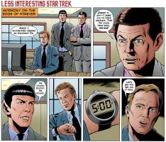 Less Interesting Star Trek by brucemccorkindale