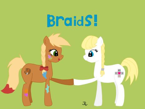 Really, Really Late Contest Entry: Braids! by Yellowninja2