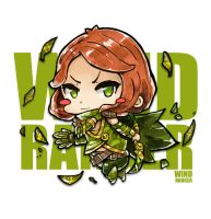 Chibi Wind Ranger by Jrpencil