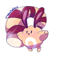 Shiny Sentret by tabby-like-a-cat