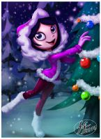Isabella on Xmas by 14-bis