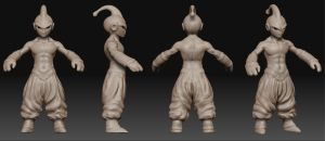 MajinBuu Hi res sculpt by leonuts