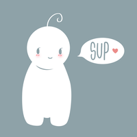 Cryaotic Sup Guy: Tshirt Design by BeckyTheBunny