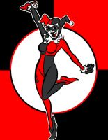 harely quinn by AlanSchell