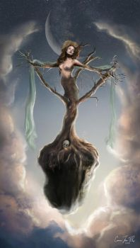 Tree lady by conniebees