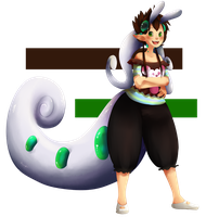 Goodra-chicka by TheLonelyQueen