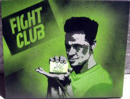 Fight Club Painting by Gcrackle1