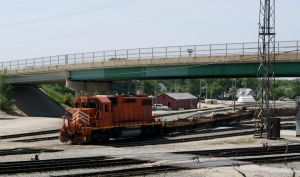 The J in Joliet Yard by JamesT4