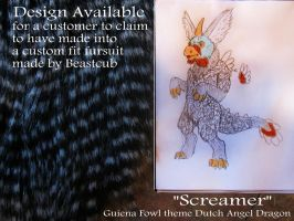 Design available for a custom fit Fursuit 2 by LilleahWest