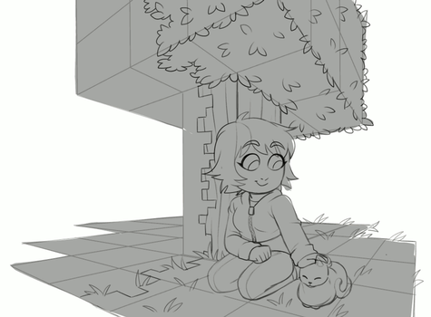 Skyblock Process GIF (Collab w/Exunary)! by Sableron