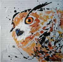 Bubo bubo by JessicaSansiquet