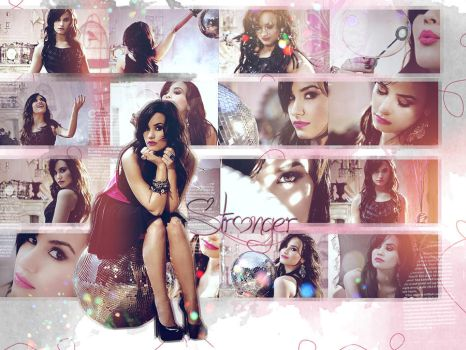 Demi Wallpaper by heeybaaby