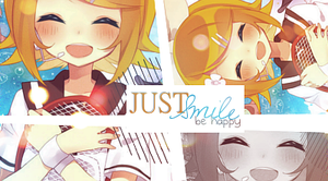 Just smile by Honney-chan