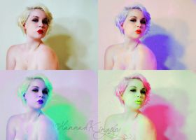 Me as Marilyn 003 by HannahAKingsley