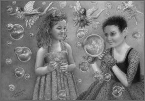 Bubble Fairies by CaroleHumphreys