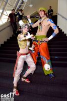 Talim and Yun Seong - Soul Calibur - Ohayocon 2013 by Weeaboo-Warehouse