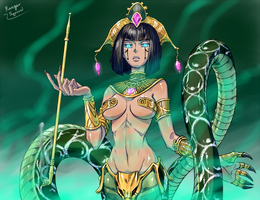 Queen Cassiopeia by dw628