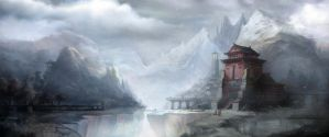 Winter Temple by TheShock