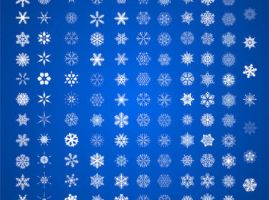 Snow-vector by vectorbackgrounds