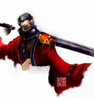 Auron Final Fantasy X by surono