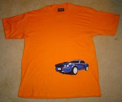 Stang T-Shirt 1 by Ezekiel-25-17