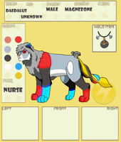 P-F App: Daedalus the Magnezone by Dark-Kataigida