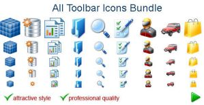All Toolbar Icons by Ikonod