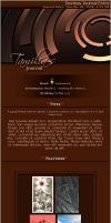 Nice Brown Journal css by Tamilia