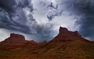 The Monuments and the Monsoon by MattGranzPhotography
