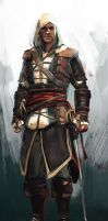 Edward Kenway by Namecchan
