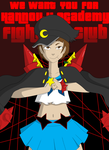 We Want YOU For Hannouji Academy Fight Club! by Pinkiekitty