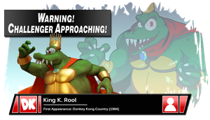 SSB4 Banner: King K. Rool by Pixiy