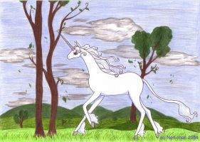 The last Unicorn - spring by Neri-chan