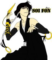 Soi Fon by NSSHardscopes