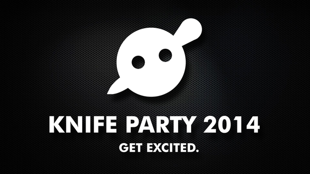 Knife Party 2014 Wallpaper by ZoomJet