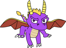 Spyro The Dragon by Mighty355
